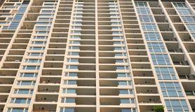 Gebäude von Wohnungen in Bangkok Lizenzfreies Stockfoto