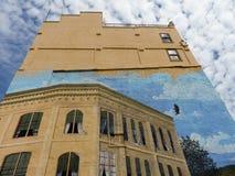 Gebäude-Wandbewilligungs-Durchlauf ODER Stockfotografie