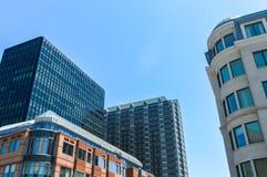 Gebäude in Westmount lizenzfreies stockfoto