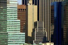 Gebäude-Windows-abstrakter Aufbau Stockfotografie