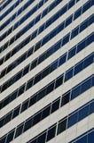 Gebäude-Windows-Zusammenfassung eines Bürogebäudes Stockfoto