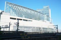 Gebäude in Yurakucho, Tokyo Stockfotografie
