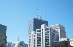 Gebäude in Yurakucho, Tokyo Lizenzfreie Stockfotografie