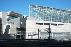 Gebäude in Yurakucho, Tokyo Lizenzfreie Stockfotos