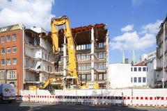 Gebäudeabbruch Lizenzfreie Stockfotos