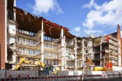 Gebäudeabbruch Lizenzfreie Stockbilder