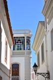Gebäudearchitektur, Algarve, Portugal stockfotos