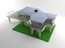 Gebäudebaumuster Lizenzfreies Stockfoto