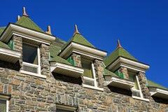 Gebäudedach Stockfotografie