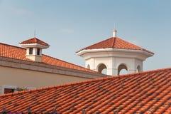 Gebäudedach Stockfoto