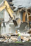 Gebäudedemolierung 5 Stockbilder