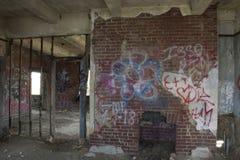 Gebäudedetail des Verschlusses 19 Steuer stockfoto