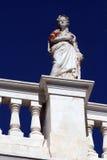 Gebäudedetail - Syros Stockfotografie