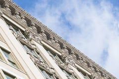 Gebäudedetails, ornamnets Lizenzfreie Stockbilder