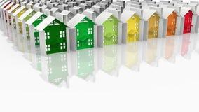 Gebäudeenergieleistung Lizenzfreie Stockfotos
