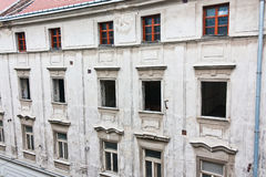 Gebäudeerneuerung lizenzfreie stockfotografie