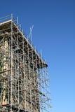 Gebäudeerneuerung. Stockfotografie