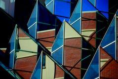 Gebäudeformen Stockfoto