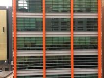 Gebäudegitter Lizenzfreies Stockfoto