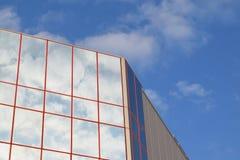 Gebäudehimmel Stockfoto