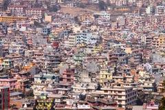 Gebäudekomplex in Nepal Asien Lizenzfreie Stockfotos