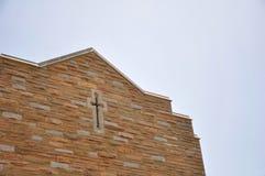Gebäudekreuz Stockbild