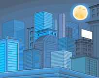 Gebäudelandschaft Lizenzfreies Stockbild