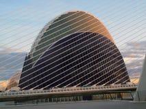 Gebäudemetallbauten Stockbild