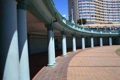 Gebäudepole Stockfoto
