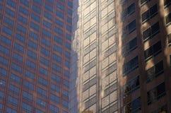 Gebäudereflexion in L A - Muster/Beschaffenheit lizenzfreie stockbilder
