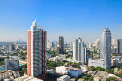 Gebäudestadt bankok Thailand Lizenzfreies Stockfoto