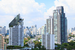 Gebäudestadt bankok Thailand Stockfotografie