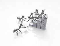 Gebäudestatistikwachstum Lizenzfreie Stockfotos