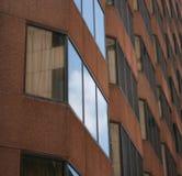 Gebäudesymmetrie stockfotos