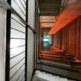 Gebäudetreppe Stockfoto