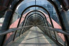 Gebäudetunnel Stockfotografie