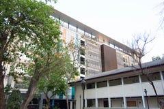 Gebäudeuniversität in Thailand lizenzfreies stockbild