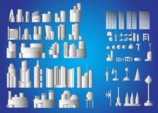 Gebäudevektor Stockbild