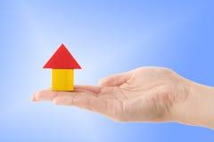 Gebäudeversicherung stockbilder