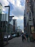 Gebäudewald Ginza Tokyo lizenzfreie stockfotografie