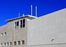 Gebäudewand Stockfoto