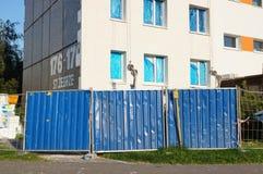 Gebäudewiederherstellung Lizenzfreie Stockbilder