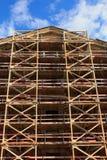Gebäudewiederherstellung Stockfotos