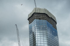 Gebäudewolkenkratzer stockfoto