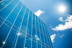 Gebäudewolkenkratzer des Geschäftszentrums Stockfotos