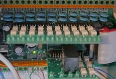 Gebührenelektrische Stromkreise stockbild