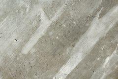 Gebürstete Betondecke mit den Fasern sichtbar an der Spitze Stockfotografie
