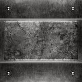 Gebürsteter Schmutzmetallhintergrund Stockbild