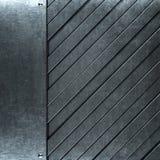 Gebürsteter Schmutzsilber-Metallhintergrund Lizenzfreie Stockbilder