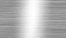 Gebürstetes Metall: Stahl- oder Aluminiumbeschaffenheitshintergrund stockfoto